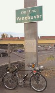 Entering Vancouver.