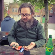 Chris has keys to like half the city.