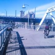 A three speed on the ramp.