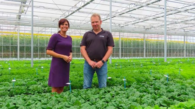 Anne Jancic, Marketing & Business Development High Tech, and Martin Voorberg, R&D Capital Investment Venture Manager at BASF Vegetable Seeds