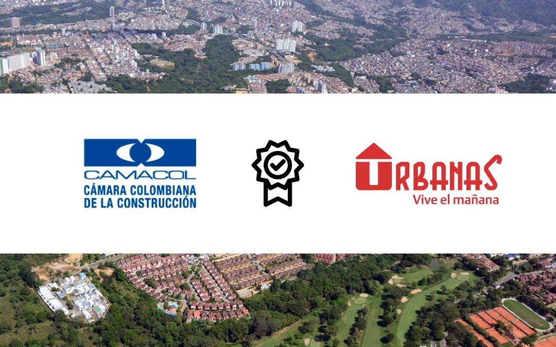 Camacol entrega a Urbanas orden al mérito de la construcción.