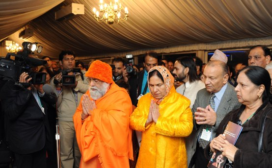 His Holiness Brahmrishi Shreekumar Swamiji Honored at the House of Commons
