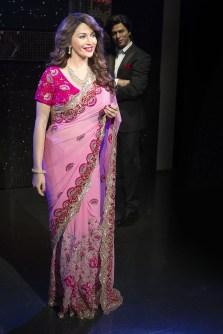 Madhuri Dixit -Nene at Madame Tussauds, London