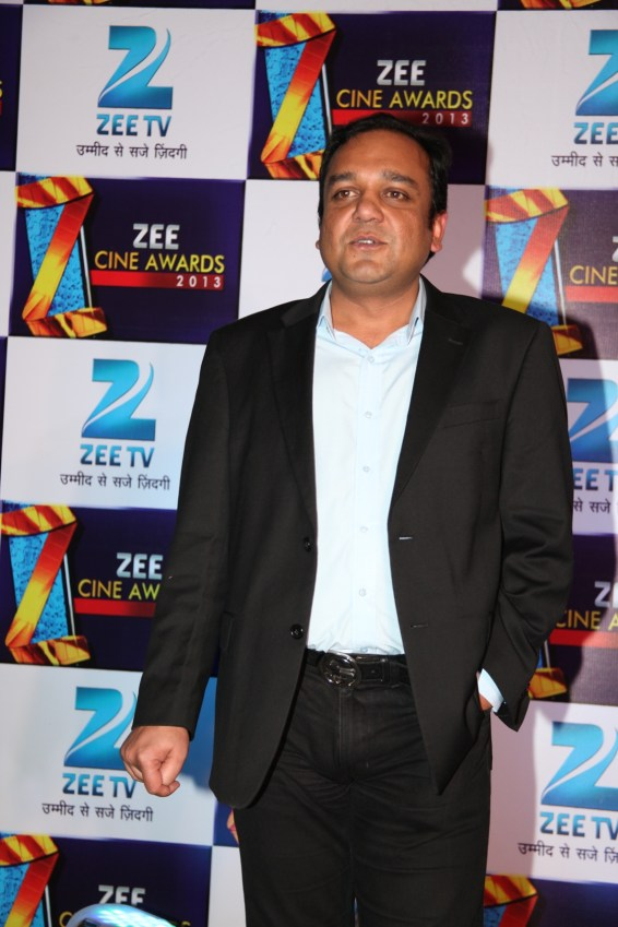 Mr. Punit Goenka, MD & CEO of ZEEL at the announcement press conference of Zee Cine Awards 2013 (1)