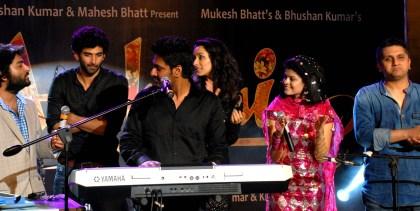 arijeet,aditya roy,mithoon,shradha,palak & mohit