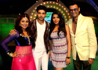 Debina, Gurmeet, Ritu Pathak and Rehman Khan