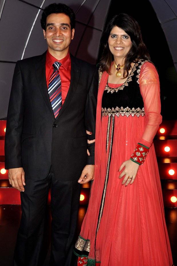 Niraj and Sunita Dube.