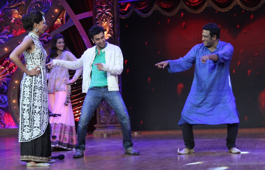 Ranbir teaches dada a few steps