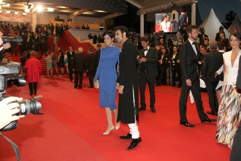 Sandip Soparrkar with his wife Jesse Randhawa at Cannes Film Festival6