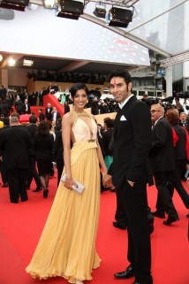 Sandip Soparrkar with his wife Jesse Randhawa at Cannes Film Festival7