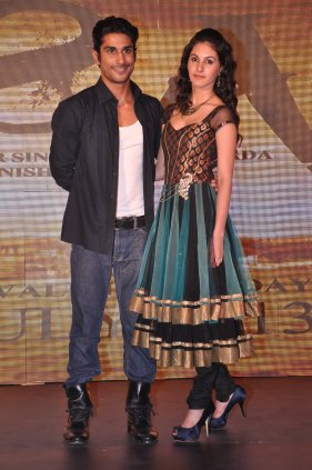 Prateik and Amyra Dastur