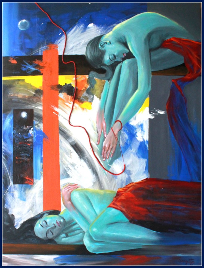 Sangeeta Babani Paintng Filled with the Silent