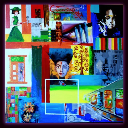 Sangeeta Babani Paintng Melange of Feelings