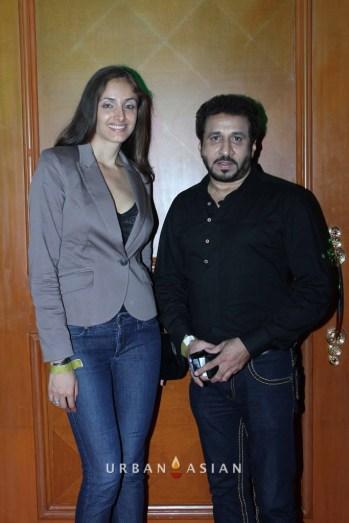130703_223223Mexican Actress Rebeca Mayorga With Parvez Lakdawala At Music Launch2