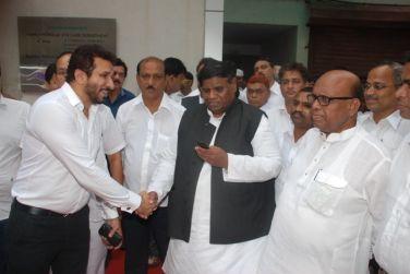 MLA Janardan Chandurkar With Vice-President Of Minority Parvez Lakdawala