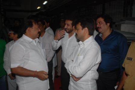 MLA Kalidas Kolambkar with Vice-President Of Minority Parvez Lakdawala