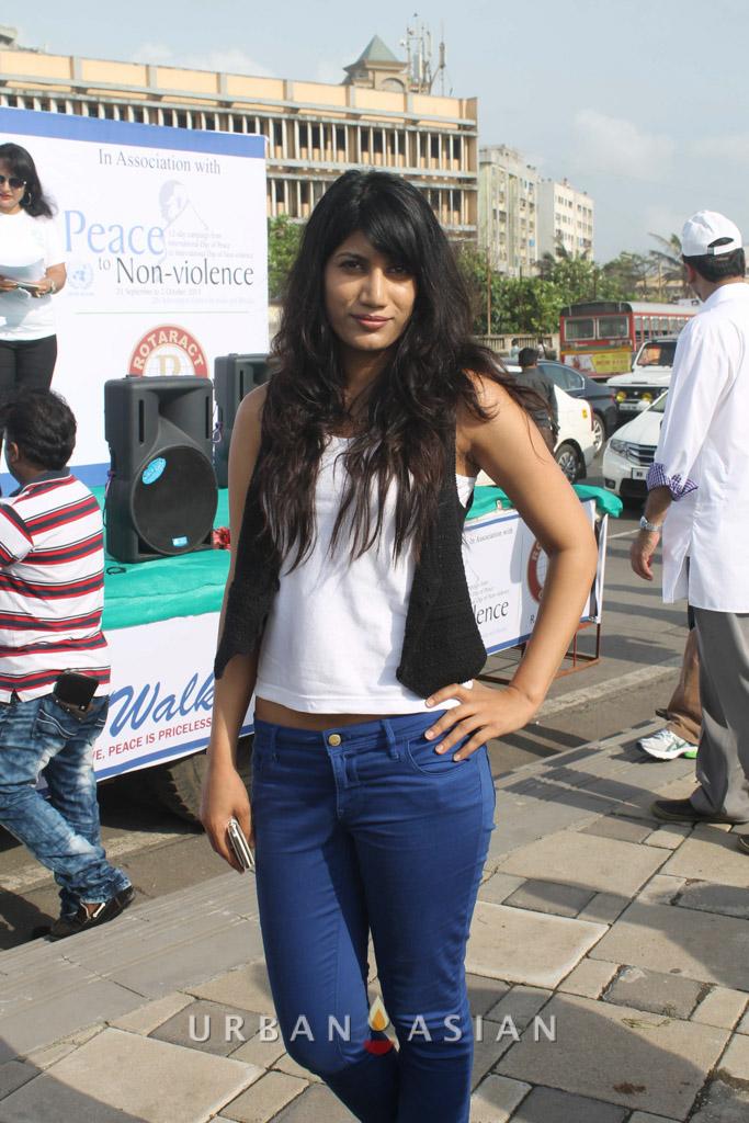 130921_162324Reshma D'souza At Peace Walk