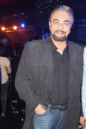 Kabir Bedi At Party