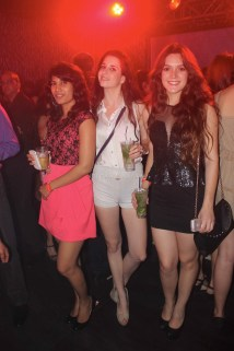 Reshma D'souza with her friends at party
