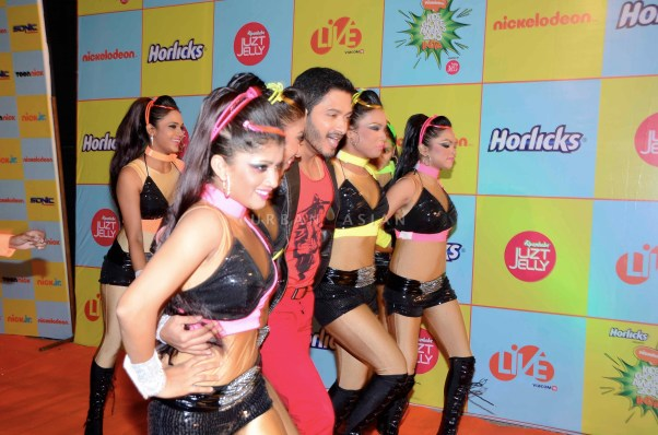 Shreyas Talpade at Kids Choice Award