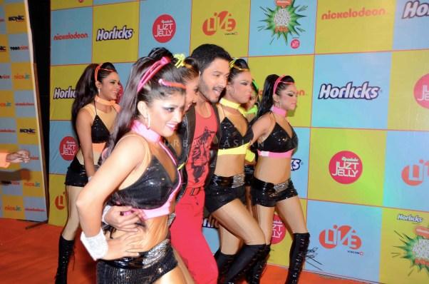 Shreyas Talpade at Kids Choice Award