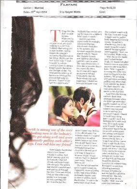 Kaanchi on Filmfare-2