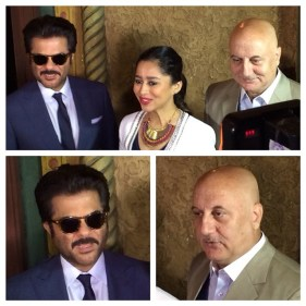 IIFA premier and workshop, anil kapoor, anupum kher