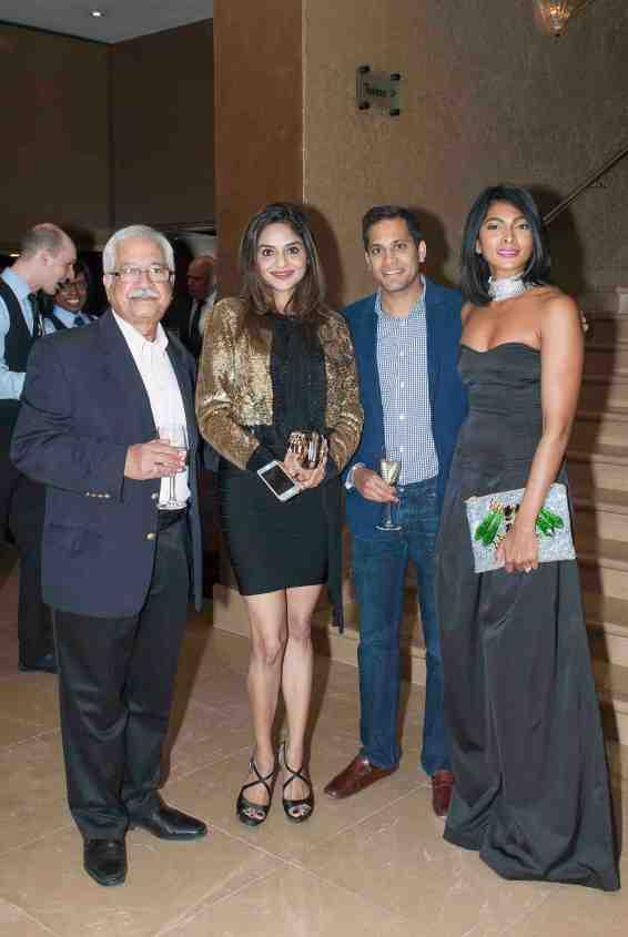Madhoo, Nina Manuel and guests