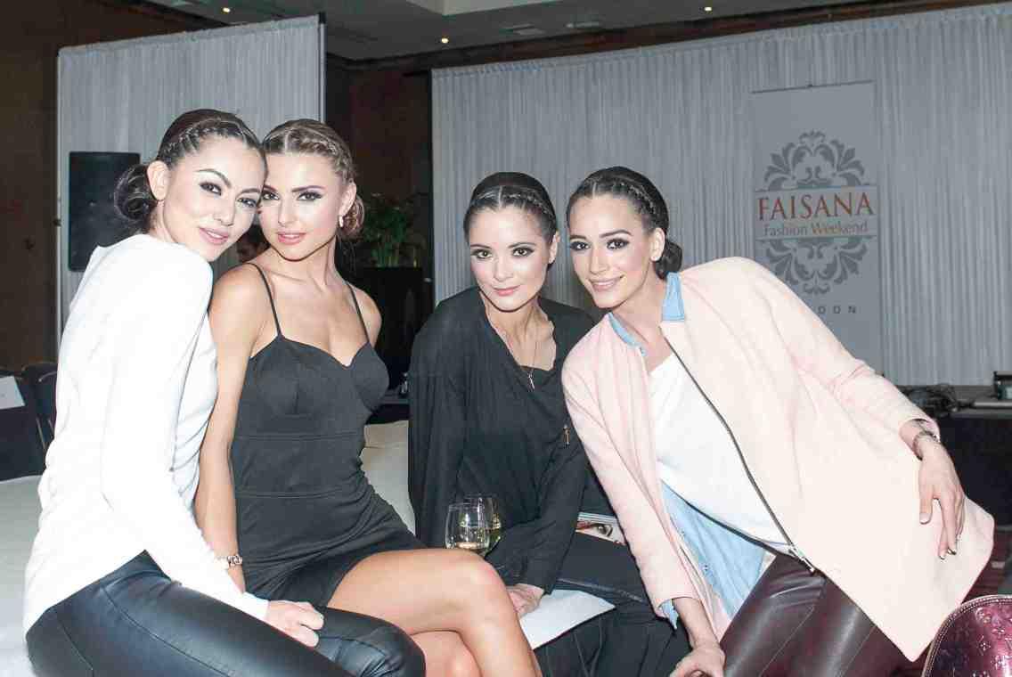 Models post show
