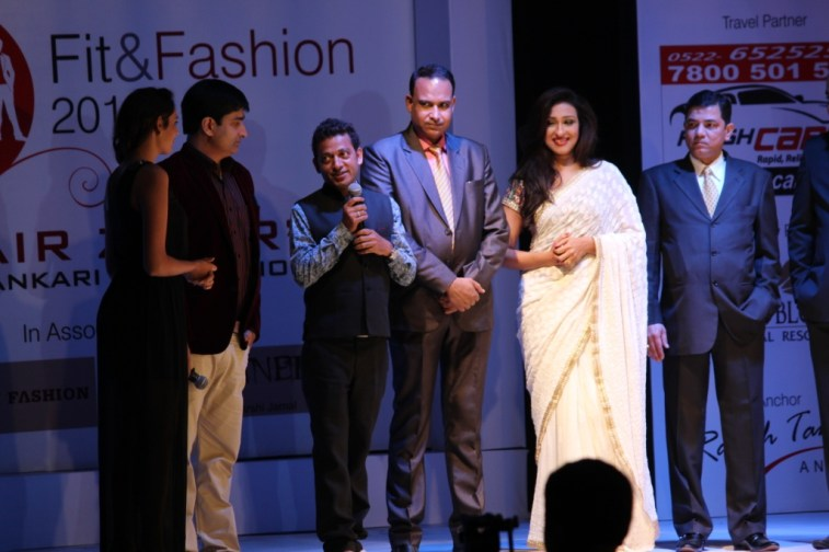 On Women's Day Umair Zafar and Rituparna Sengupta team up to promote women embroidery workers