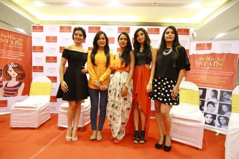 Sukirti Kandpal, Surbhi Jyoti, Nia Sharma, Vrushika Mehta and Pooja Gor