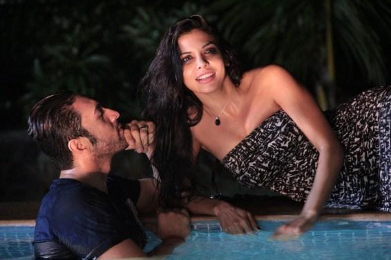 Adhyayan Suman and Sara loren