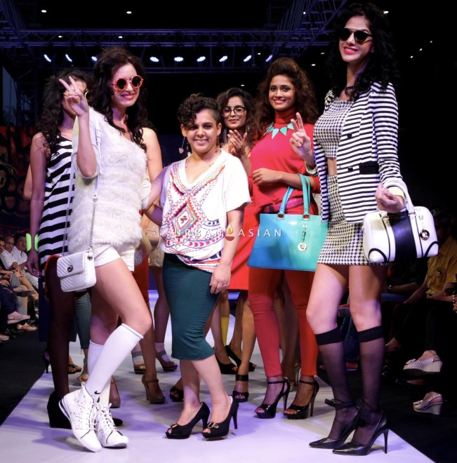 models with stylist shalini mehta