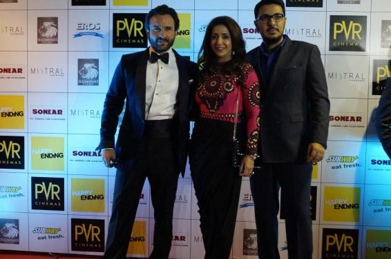 Saif Ali Khan, Krishika Lula and Dinesh Vijan