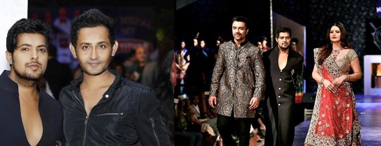Vishal Kapoor With Hitesh Kaneria At PANACHErunway Fashion Show