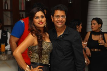 Anand Saxena at B'day party