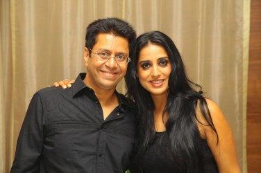 Anand Saxena with Mahi Gill