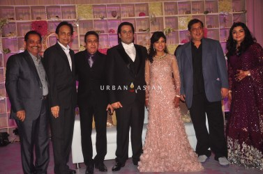 David Dhavan at Uday Singh and Shirin recepetion Party
