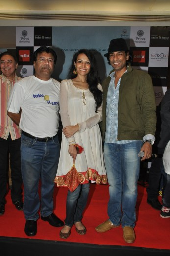 Producer Dharmesh Pandit, Dipannita Sharma and Director Sunil Prem Vyas