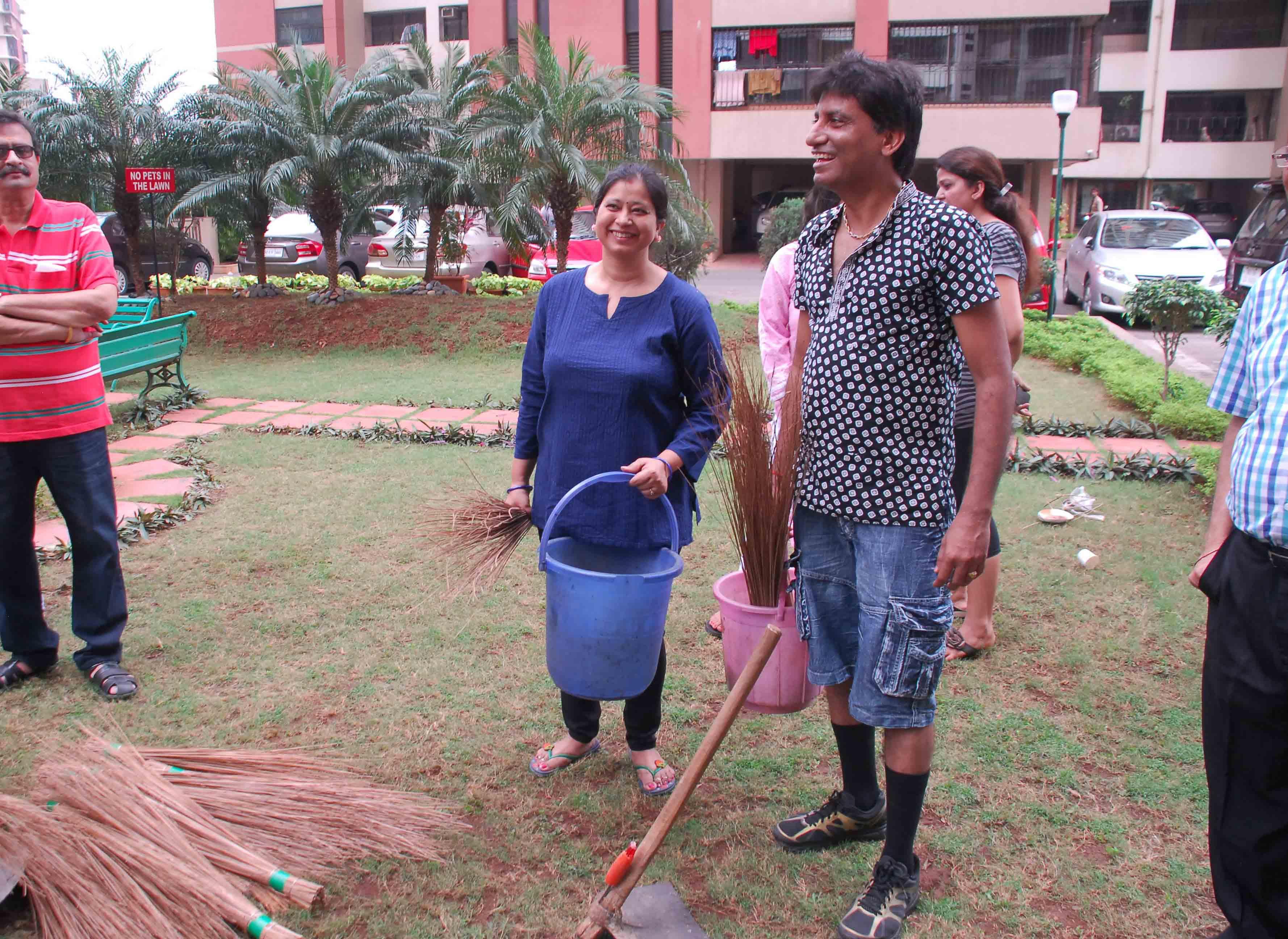 Raju Srivastav Clean Mumbai6