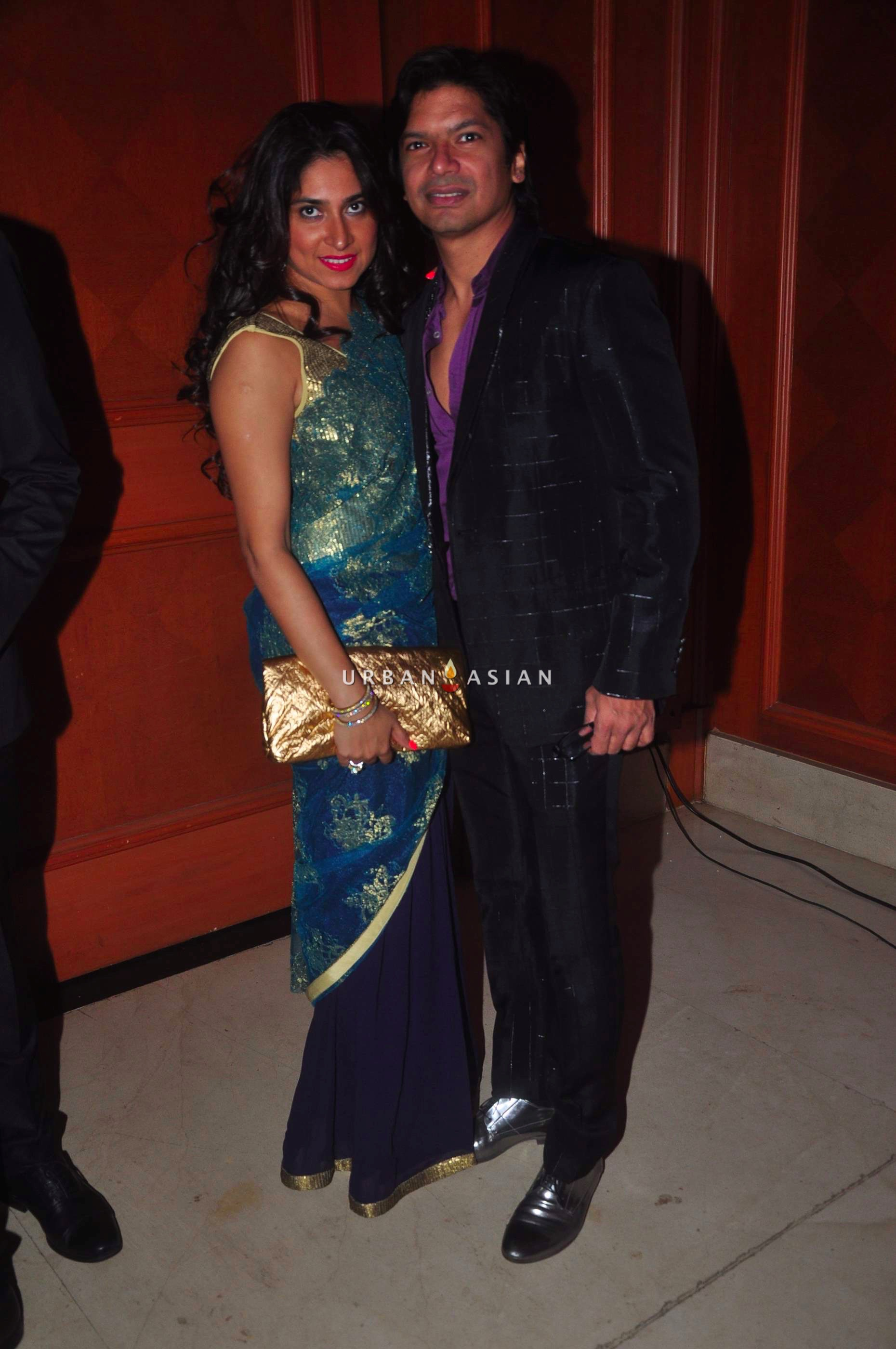 Shan with his wife