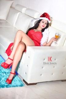 Shobhita Rana Sexy Santa.