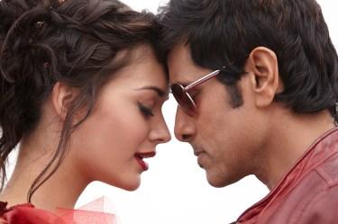 Vikram & Amy Jackson in I (1)