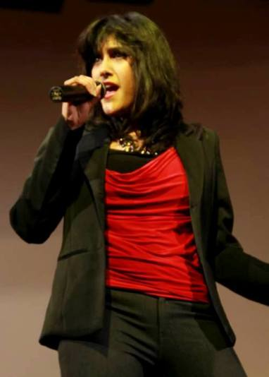 Sagarika Deb during performance 2