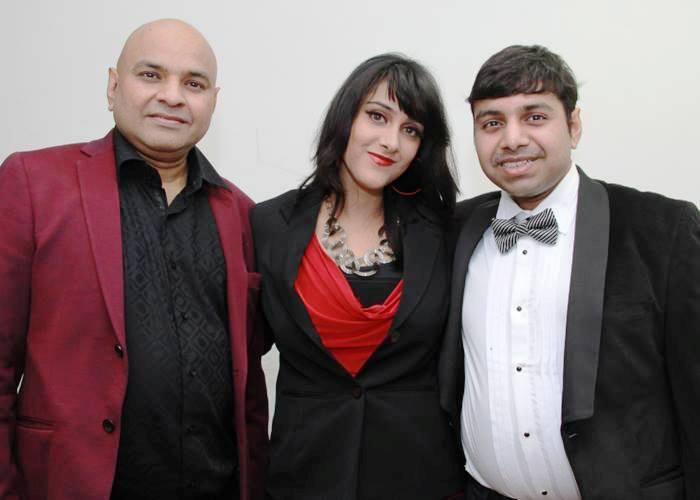 Sagarika Deb with IIFT Director Ratnadeep Lal and his Son Prateek Lal