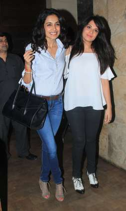 Sarah Jane and Richa Chaddha