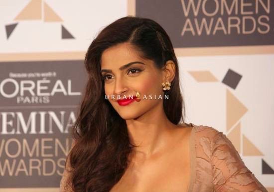 Sonam Kapoor during the announcement of the 4th edition of L'Oreal Paris Femina Women Award 201Sonam Kapoor during the announcement of the 4th edition of L'Oreal Paris Femina Women Award 201