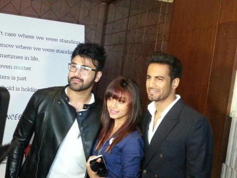 Aarya Babbar, Soni Singh and Upen Patel