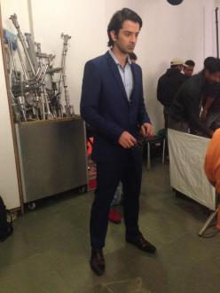 Barun all suited up