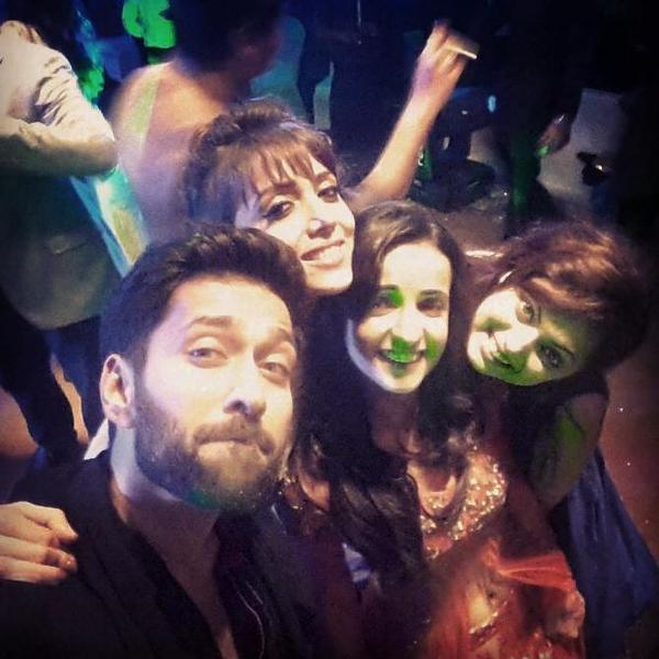 Drashti with friends